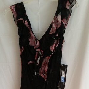 Sue Wong NOCTURNE cocktail beaded dress NWT